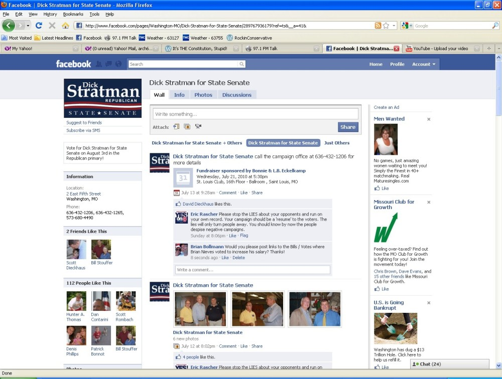 Dick Stratman - Request Denied (1/3)