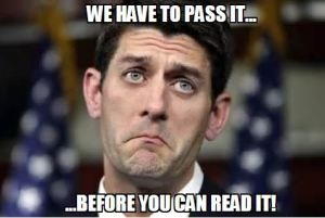 Paul Ryan - We Have To Pass It - 01